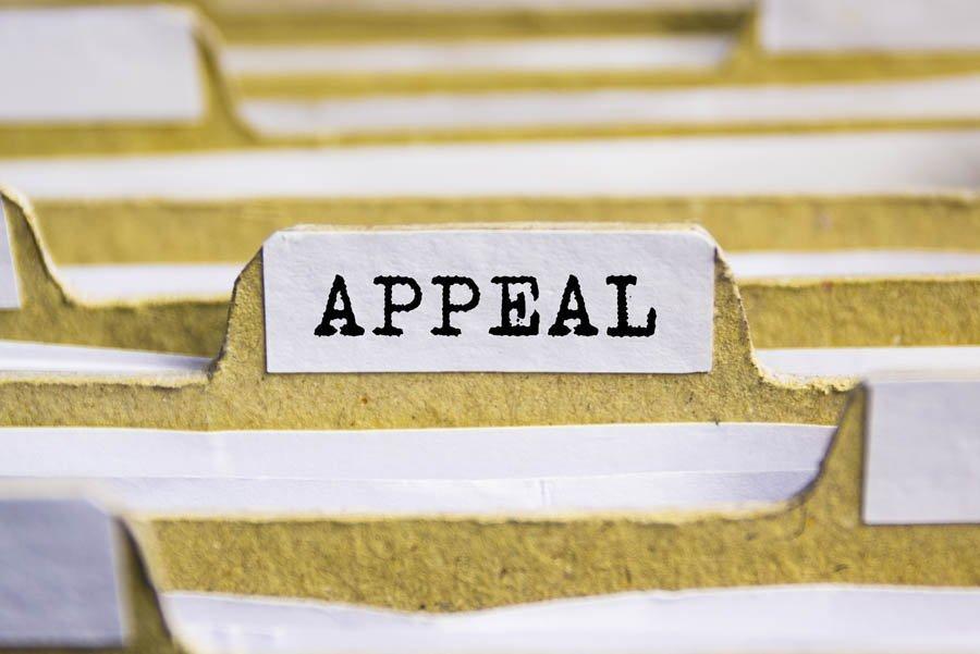 Repossession - Appeals